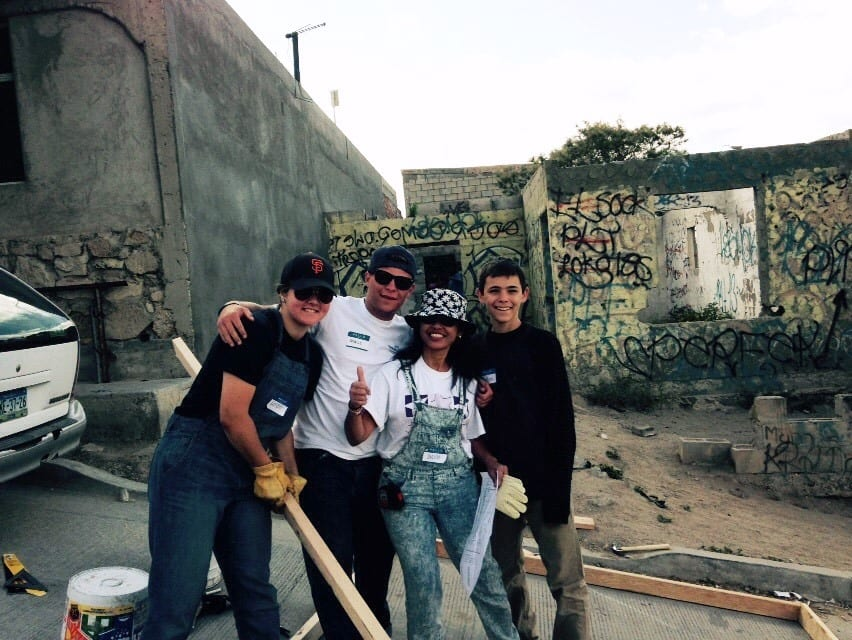 Spring Break Service Trip Cadet Roth Builds Homes in Mexico