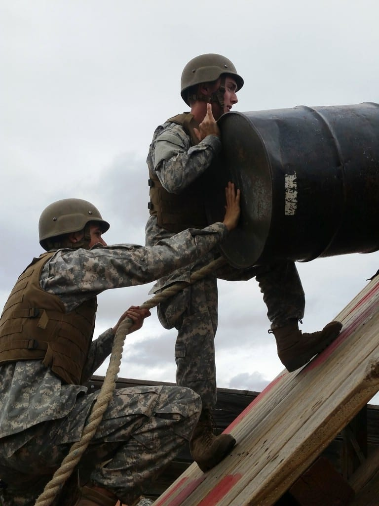 Leadership Reaction Course at Camp Pendleton