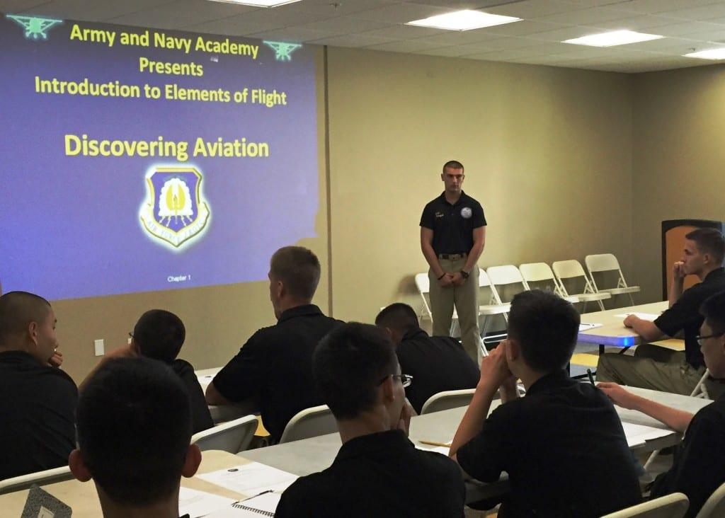 Aviation Club at Military Boarding School