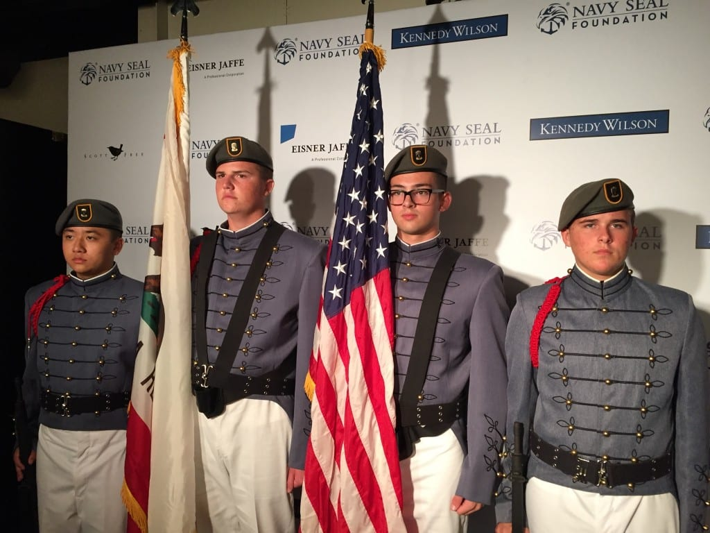 Color Guard Detachment at Navy SEAL Foundation Event