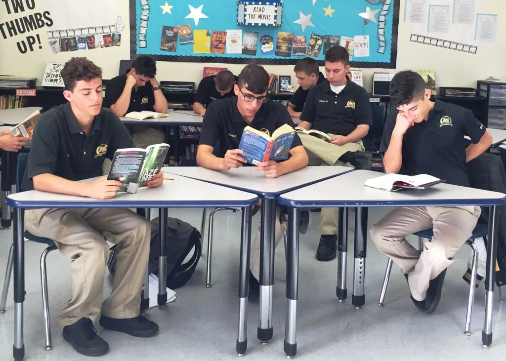 Cadets Reading