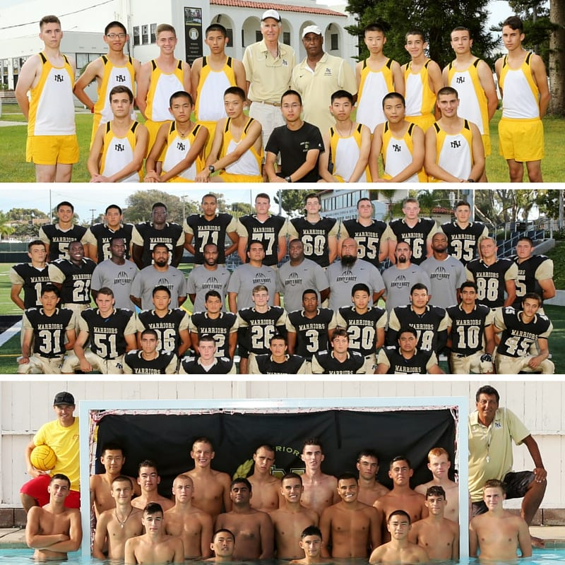 Fall Sports Teams at Army and Navy Academy