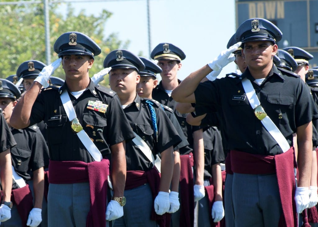 Independence and discipline at military schools