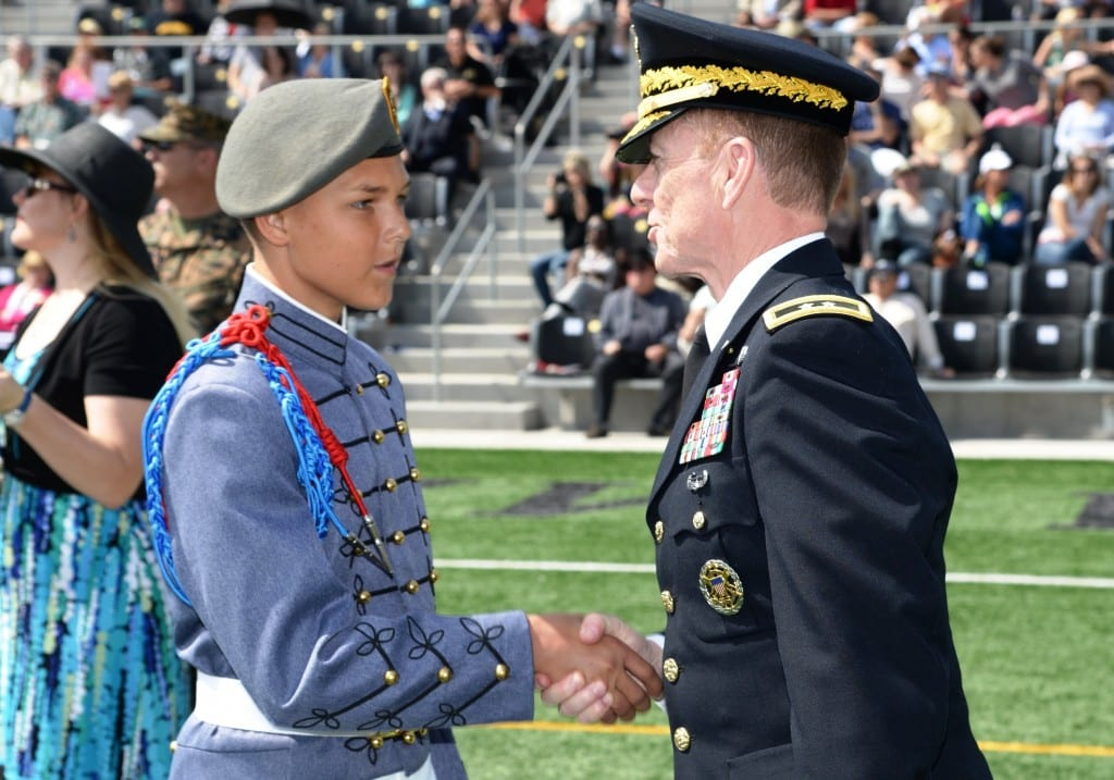 Military School Awards and Accomplishments
