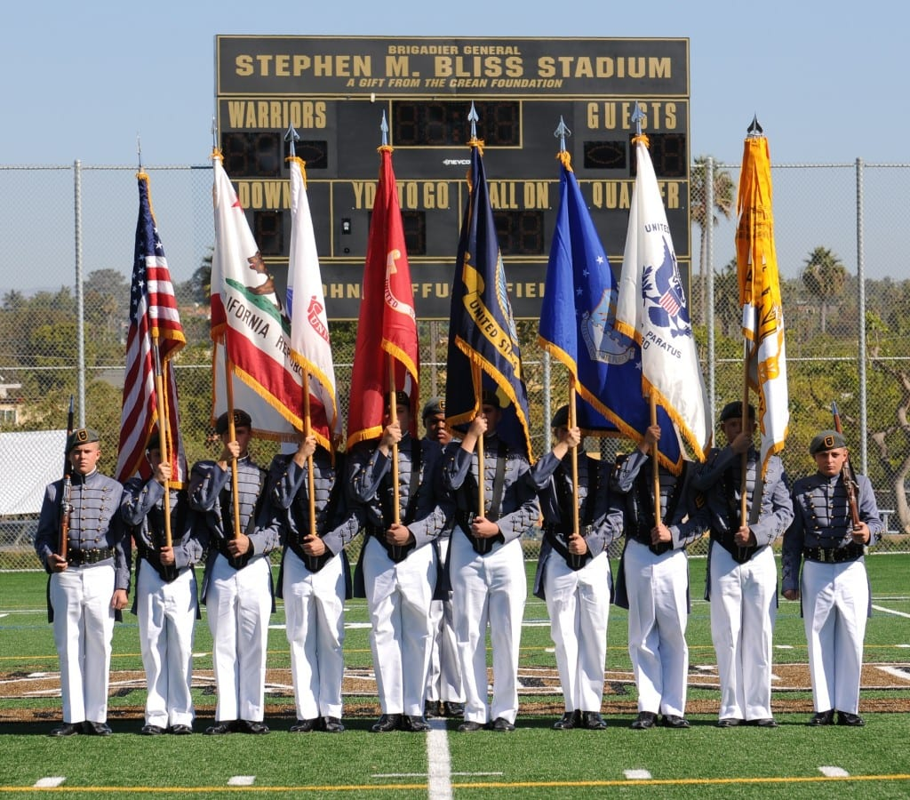 10 Man Color Guard - Veterans Day