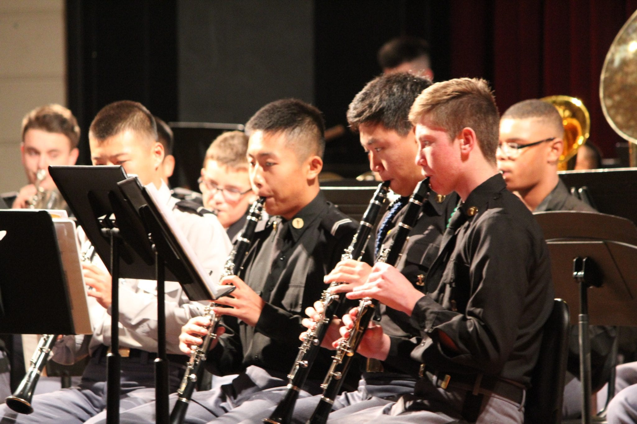 Army and Navy Academy Winter Band Concert
