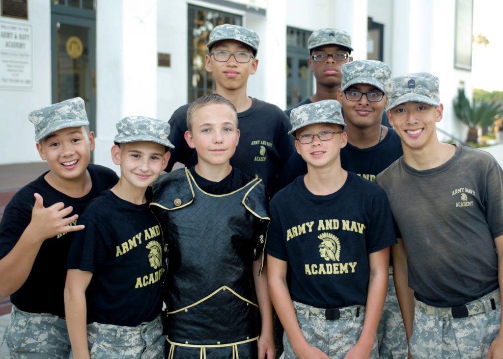 Back to School Weekend - Cadets at BBQ