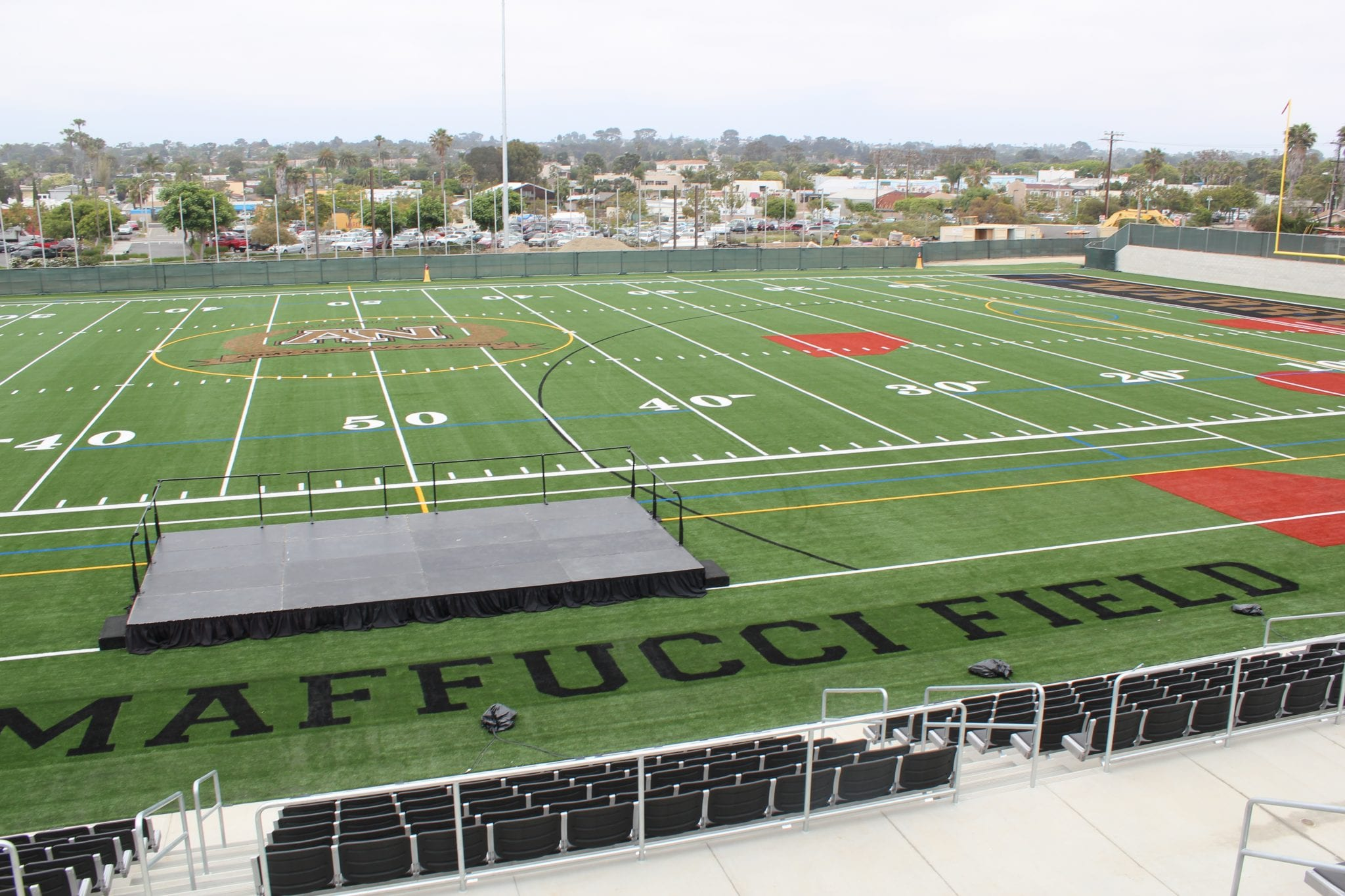 Campus Images - Athletic Facilities, NEW Maffucci Field