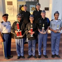Cadets Win 7 Trophies in Regional JROTC Drill Competition