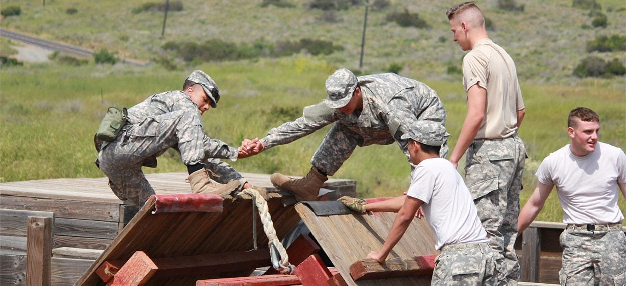 Summer Leadership Camp At Army Navy Academy In San Diego